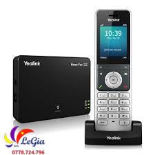 Điện Thoại IP WiFi Yealink W56P không dây