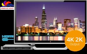 TS-453BU HDMI2 le gia